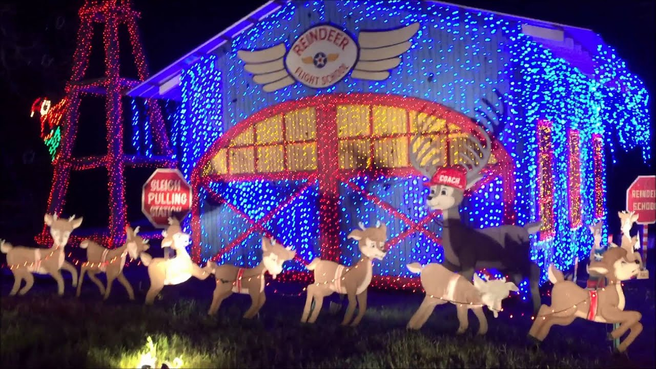 santas wonderland hayride college station texas 2015 - Christmas Lights College Station