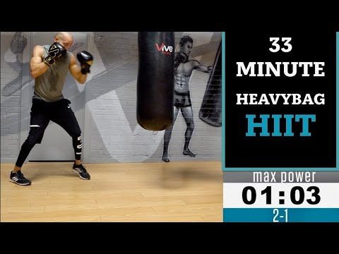 33 Minute Boxing  Heavy Bag HIIT
