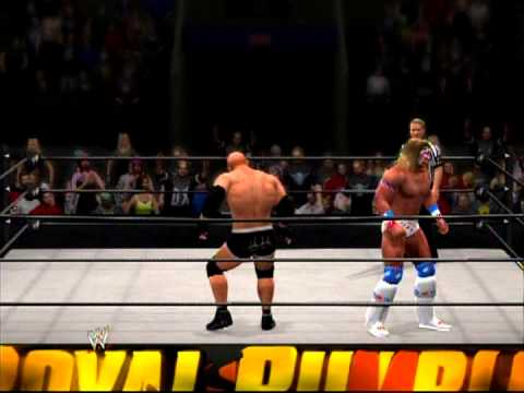 WWE 13 Ultimate Warrior vs Bill Goldberg Fantasy Match vol ...