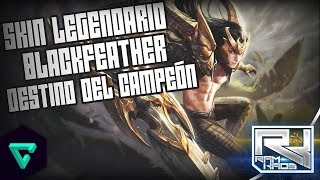 Aspecto Legendario de BlackFeather: Destino del Campeón | Vainglory Noticias