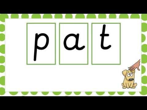 Practice Blending Sounds for Reading- CVC Words