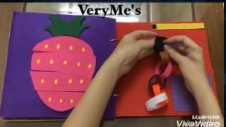 Sách vải hướng dẫn dạy kỹ năng sống cho bé   Phần 1