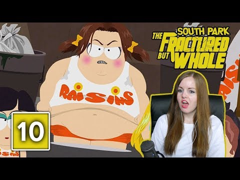 SHE'S GONNA EAT ME | South Park The Fractured But Whole Gameplay Walkthrough Part 10