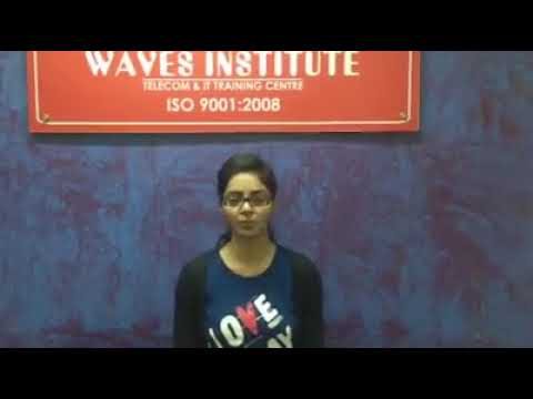Waves Institute Pune  Telecom Training   Placed Student 4