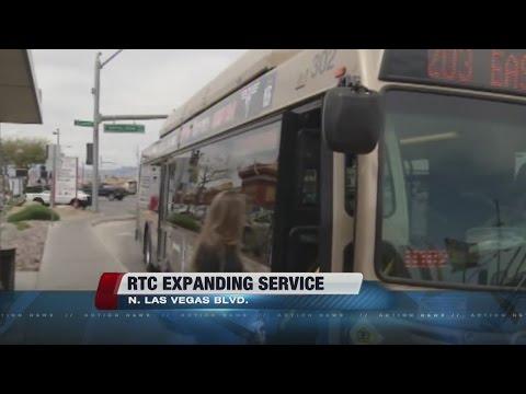 RTC expanding service hours on North Las Vegas Boulevard