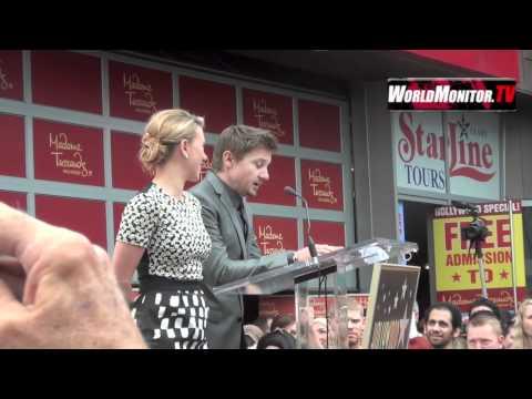 Jeremy Renner Hilarious speech at Scarlet Johansson walk of fame induction ceremony