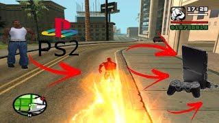 Códigos/Manhas pra você virar o Flash no GTA San Andreas de ps2 SEM MOD