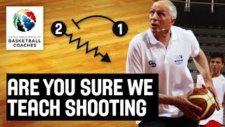 Are You Sure We Teach the Shooting - Holger Geschwindner - Basketball Fundamentals