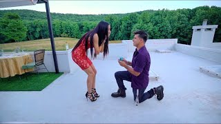 CYRUS DOBRE AND CHRISTINA KAYY FROM BEGINNING (PROPOSAL/MARRIAGE) TO THE END (BREAKUP/DIVORCE)