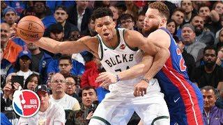 Giannis Antetokounmpo scores 41 points as Bucks sweep Pistons | NBA Highlights