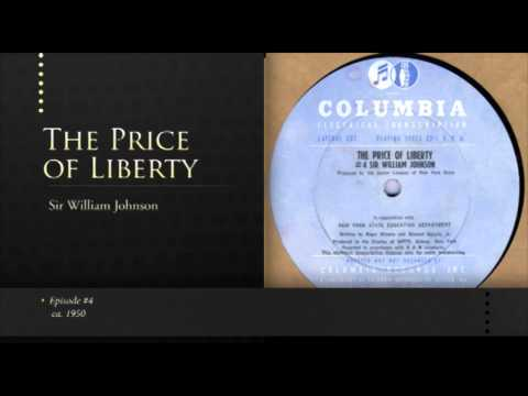 The Price of Liberty #4: Sir William Johnson - ca. 1950