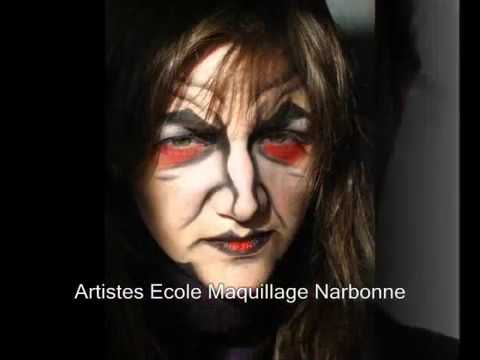 Maquillage sorci re youtube - Maquillage sorciere femme ...