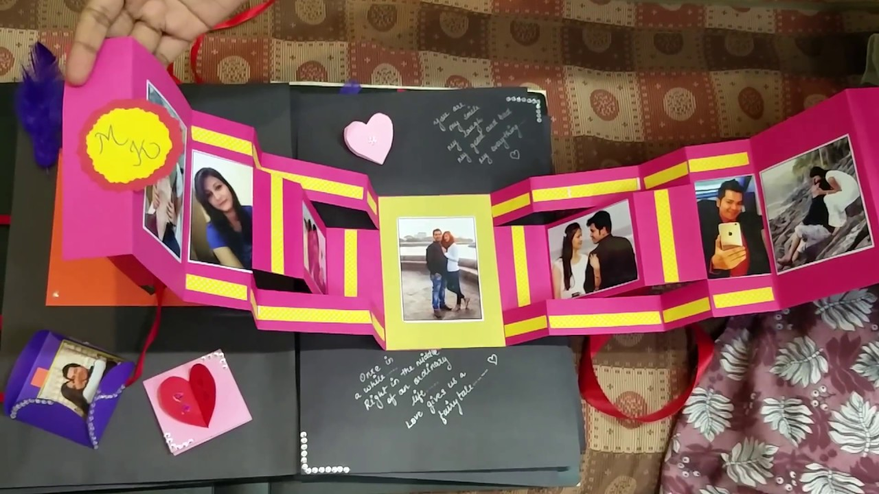Scrapbook For A Couple YouTube