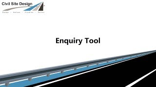 Civil Site Design - Enquiry Tool