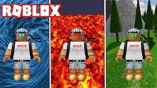 FIRE, WASSER & ERDE BENDING POWERS IN ROBLOX! (ELEMENTARE SCHLACHTFELDER)