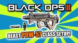 black ops 2 best smg class setup   pdw 57