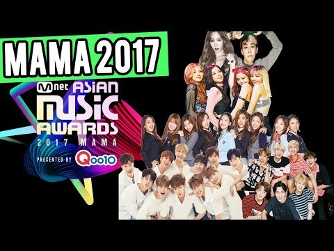 Todo sobre los MAMA 2017 // Nominados // Pagina para votar // Mnet Asian Music Awards 2017