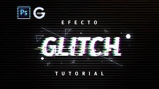 Photoshop Tutorial   Efecto Glitch sobre Texto   Glitch Effect Text