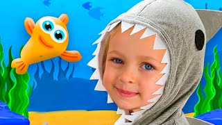 Baby Shark - Children Song by Maya and Mary