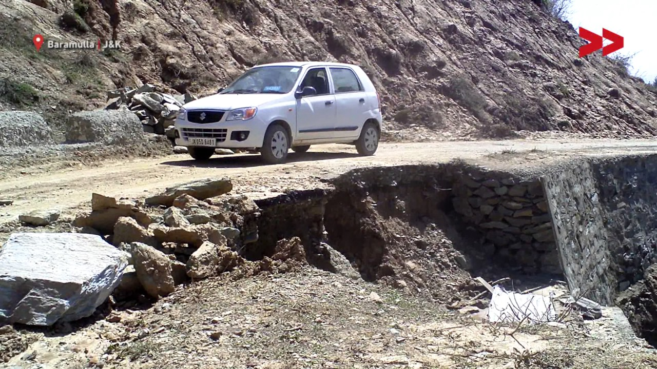 Frequent Landslides in Hajibal Village Create Fear Among Inhabitants | Yaseen Reports