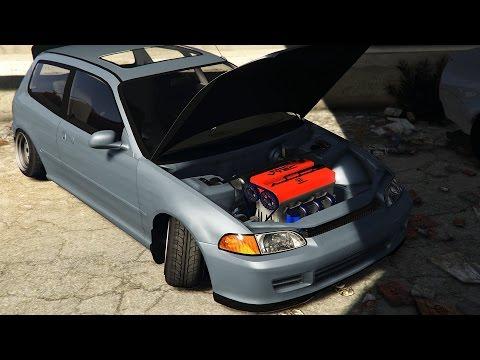 GTA 5 JDM Car Meet (Real Car Mods)