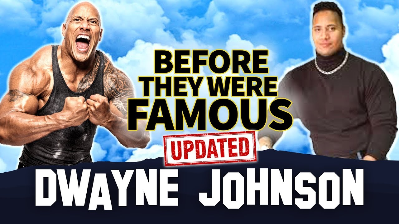 Dwayne Johnson | Before They Were Famous | Updated 2019