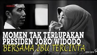 Gambar cover Momen Tak Terlupakan Presiden Jokowi, Bersama Sang Ibu Sudjiatmi Notomihardjo Semasa Hidup