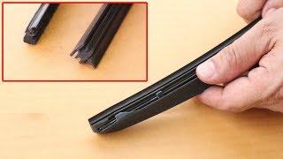 เปลี่ยนยางใบปัดน้ำฝนรถยนต์ (How to replace Car Wiper Blade)