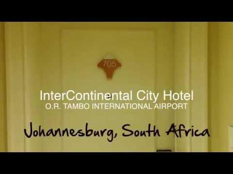InterContinental Room Tour | Johannesburg, South Africa