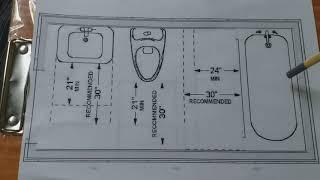 10' * 5' bathroom setup by plumber mind