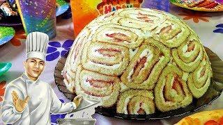 Творожный торт Улитка - торт без выпечки