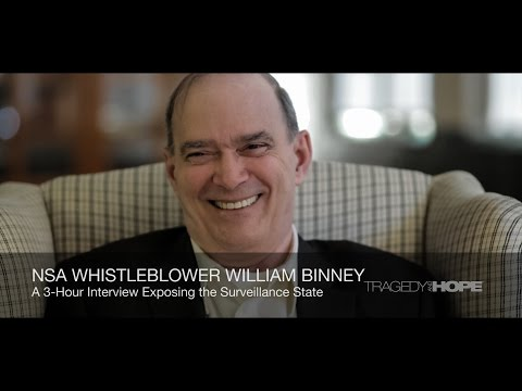 NSA Whistleblower William Binney interviewed by Richard Grov
