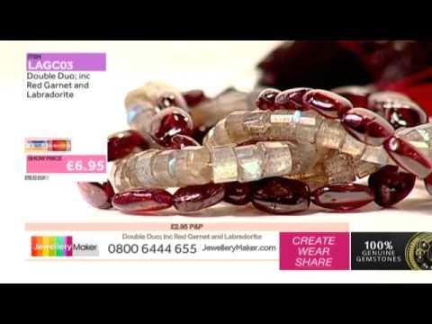 How to make Mixed Media Jewellery - JewelleryMaker LIVE (AM) 21/09/2014