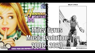 Miley Cyrus - The Music Evolution (2006 - 2020)