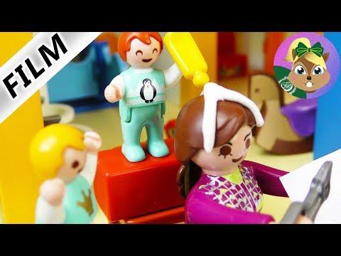 بلايموبيل فيلم  لزق في الشعر -ايما بتلعب فى الحضانة؟ أسرة الطيورفيلم للأطفال