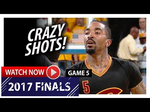 J.R Smith Full Game 5 Highlights vs Warriors 2017 Finals - 25 Pts, 7 Threes