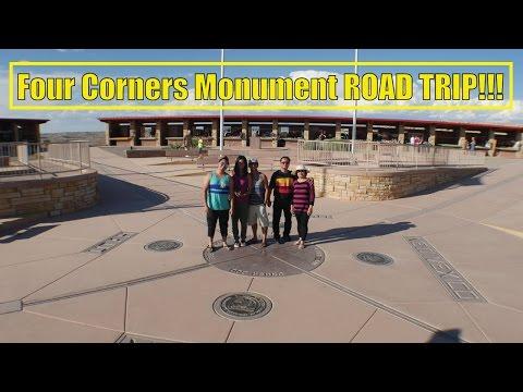 Four Corners Monument ROAD TRIP!!!