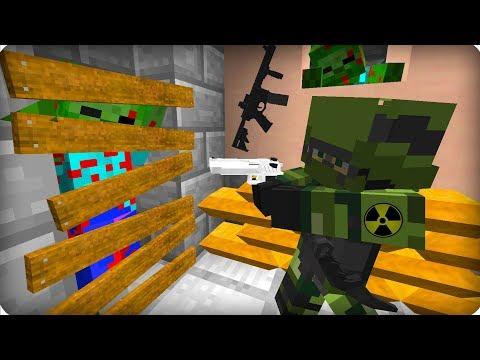 Он выживал всё это время [ЧАСТЬ 44] Зомби апокалипсис в майнкрафт! - (Minecraft - Сериал)