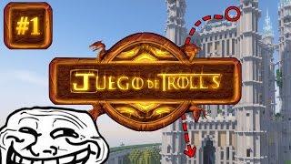 TROLLEANDO CON CREEPERS: ¡VIVA EL REY! | NUEVA SERIE JUEGO DE TROLLS #1 (SERIE TROLL)