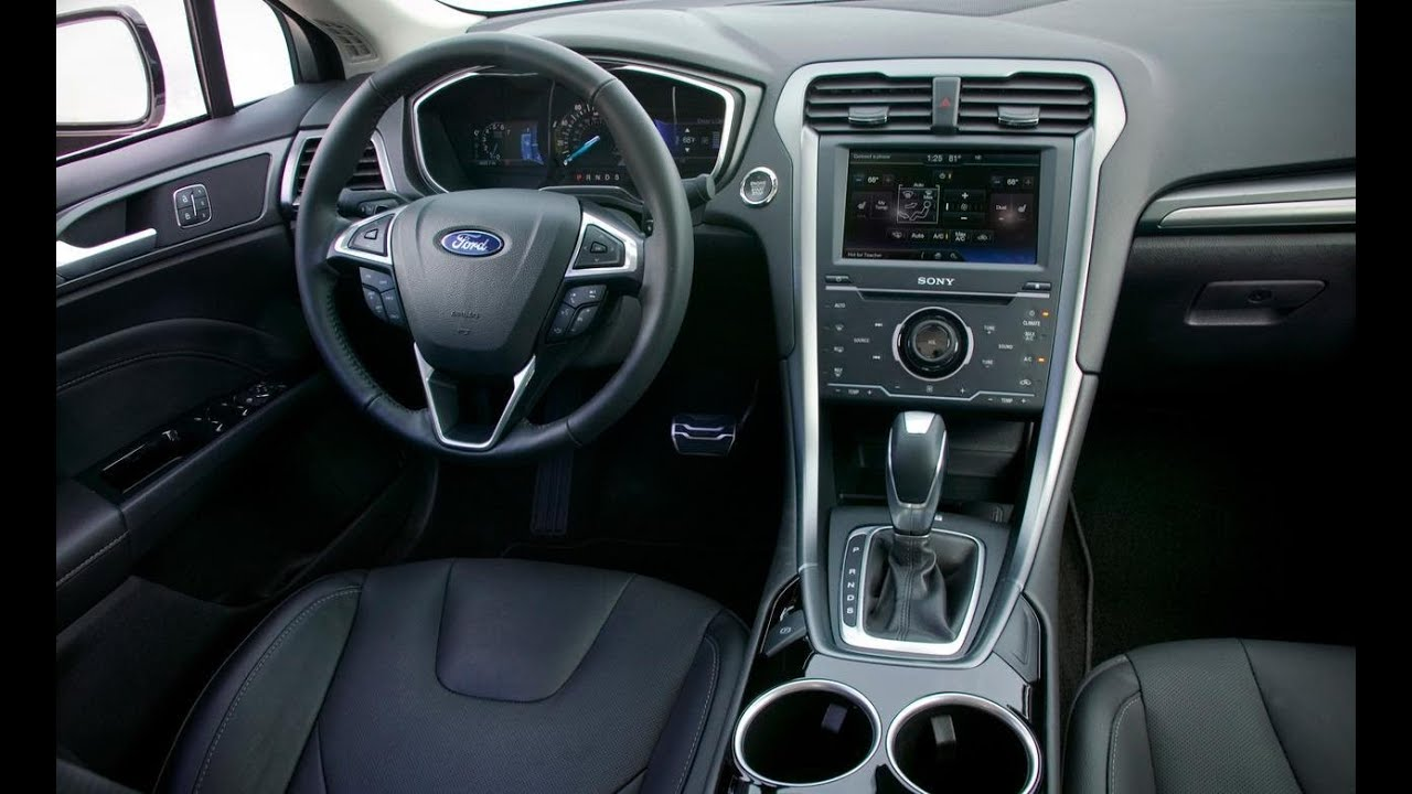 2014 Ford Fusion Titanium AWD EcoBoost Review YouTube