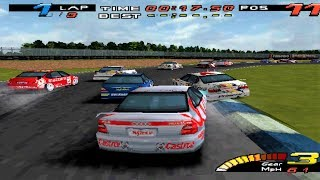 TOCA Touring Car Championship - PS1 Gameplay (1080p60fps)