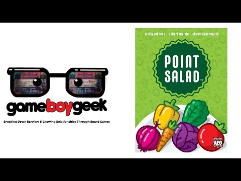AEG Point Salad card-drafting game