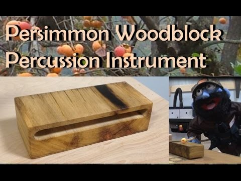 how to make a wood block instrument 2