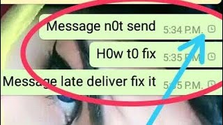 How To Fix Whatsapp Messages Not Send To Other
