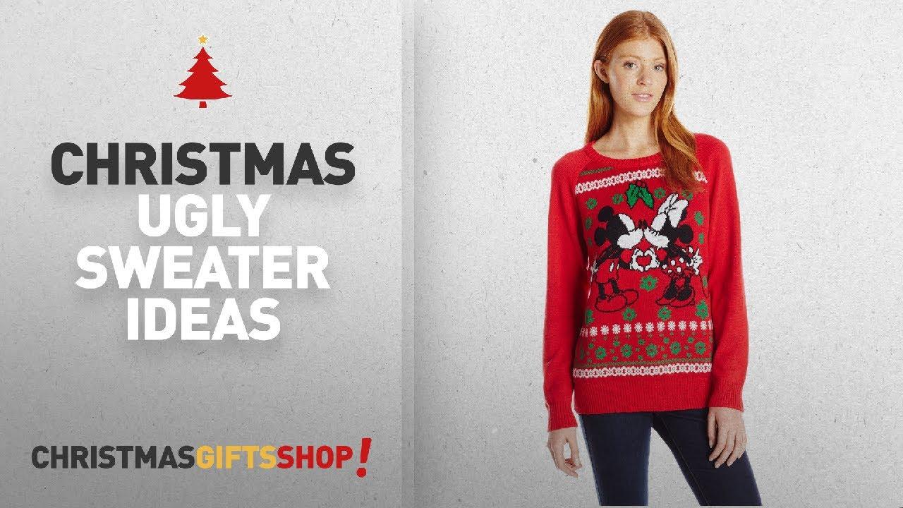 Christmas Women Disney For Mickey Ugly Womens Sweater Dvr78rq