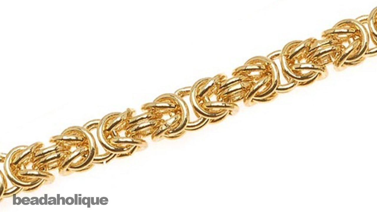 gold l necklace chain byzantine room property