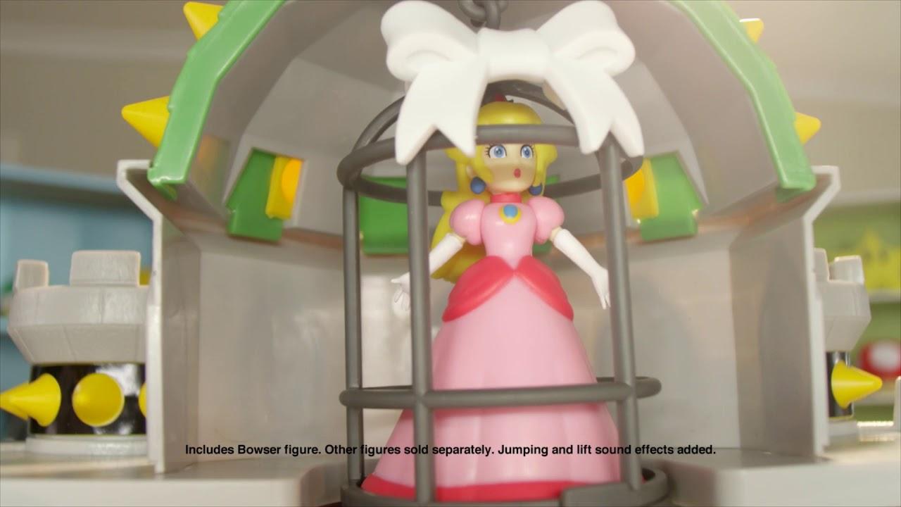 Super Mario Bowser S Castle Playset Commercial Jakks Pacific