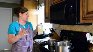 Easy Homeschool Lunch - Kitchen Sink Soup