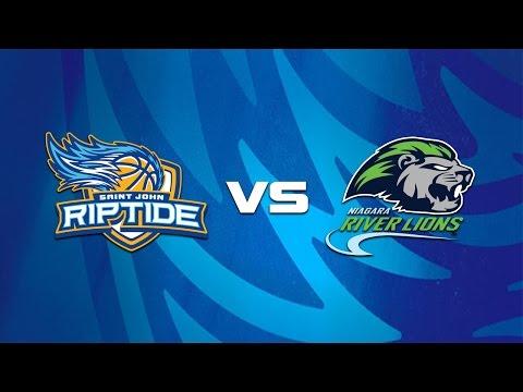 Riptide vs Niagara River Lions - January 7, 2017