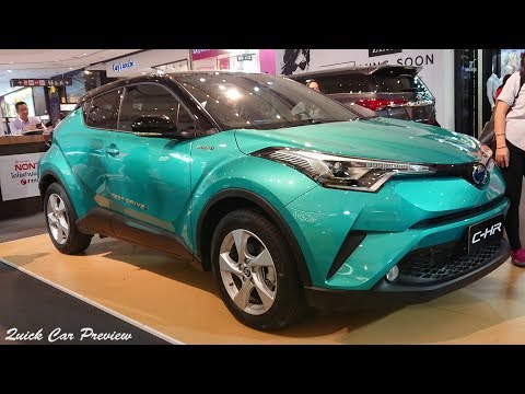 Quick Preview : 2019 Toyota C-HR Hybrid HV Hi